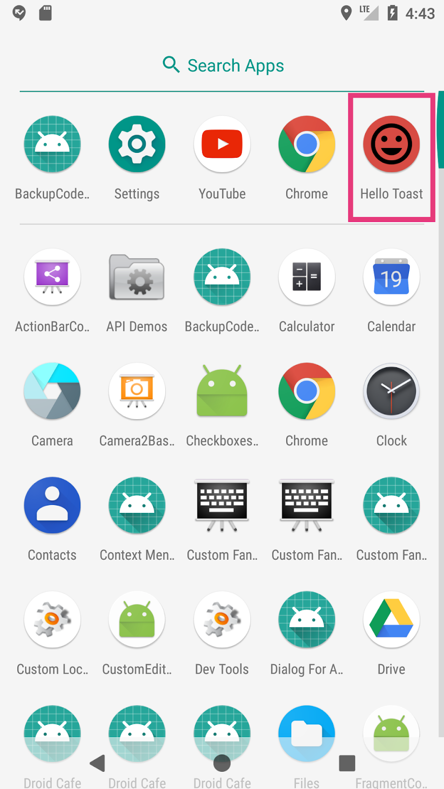 The app uses the new launcher icon.