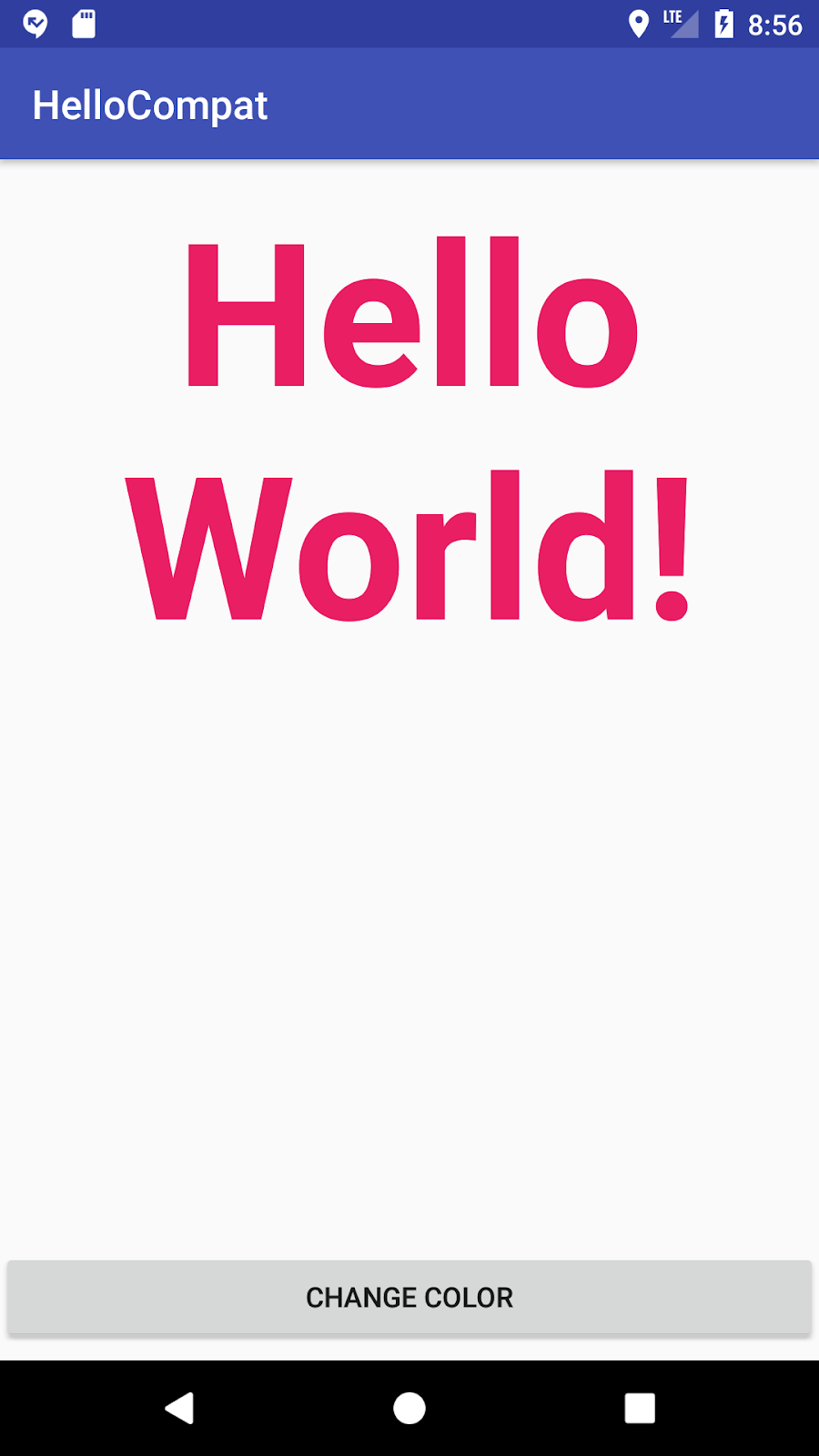 HelloCompat app