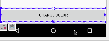 Changing the Button attributes