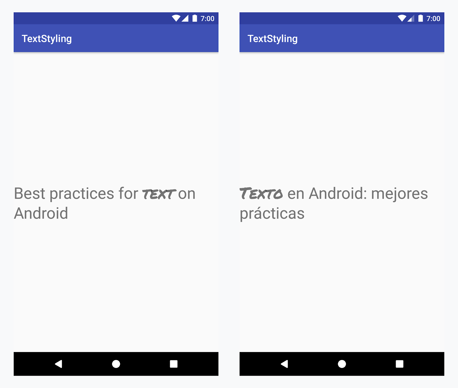 Recursos de string | Android Developers