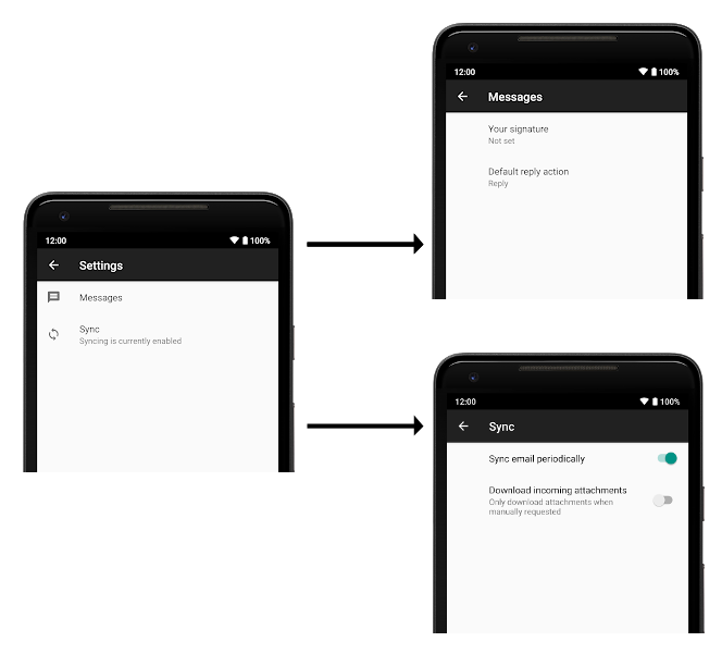 Organize your settings | Android Developers