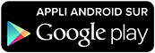 Application Android sur Google Play