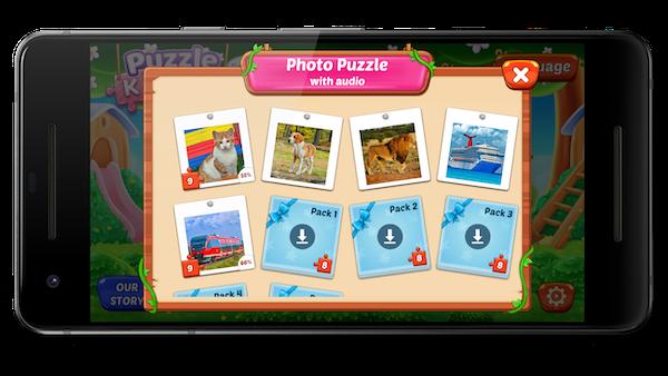 Puzzle Kids 게임