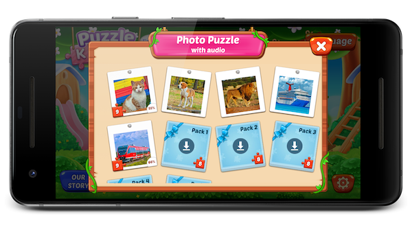 Puzzle Kids game