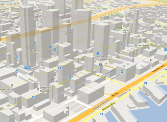 Google maps sample image