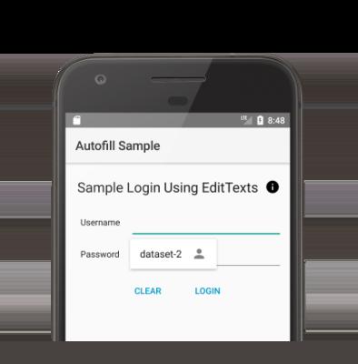 利用可能なデータセットとして「dataset-2」を表示する自動入力 UI