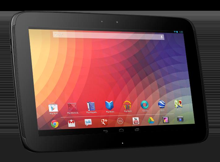 Tablet de 10 polegadas com Android 4.2