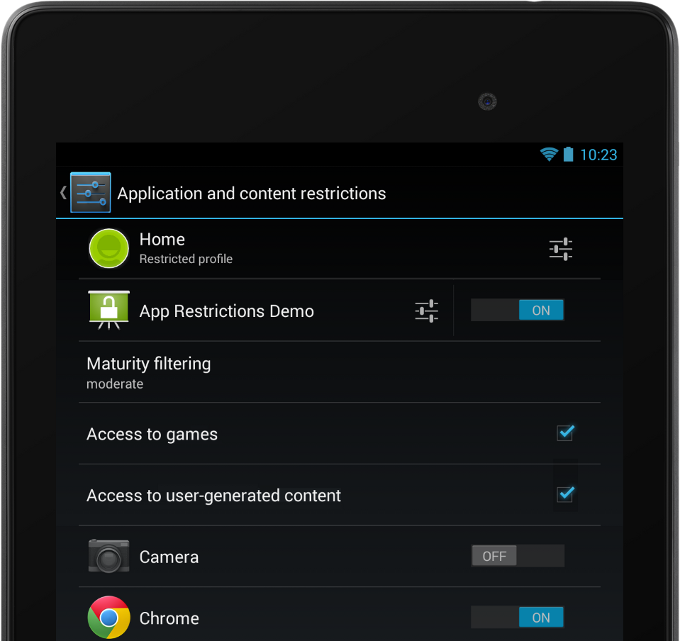 wallpaper settings in android lollipop