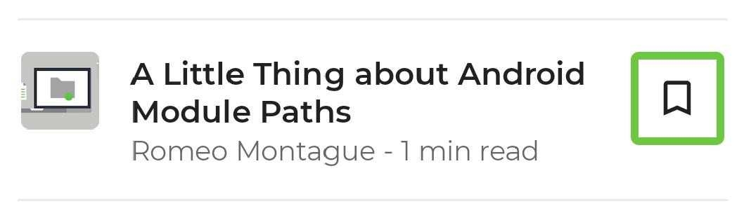 """Item de lista, com apenas o ícone """"adicionar aos favoritos"""" selecionado."""