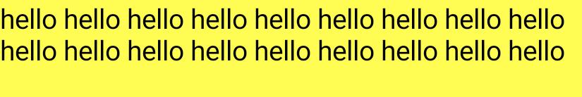 Un pasaje de texto largo truncado después de dos líneas