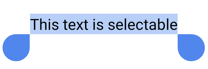 Un pasaje de texto breve seleccionado por el usuario