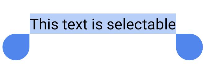 ユーザーが選択した短い文。