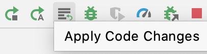 """Un usuario que hace clic en el botón """"Apply Changes"""""""