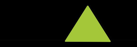 Coordenadas nos vértices de um triângulo