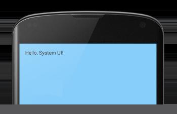 system bars