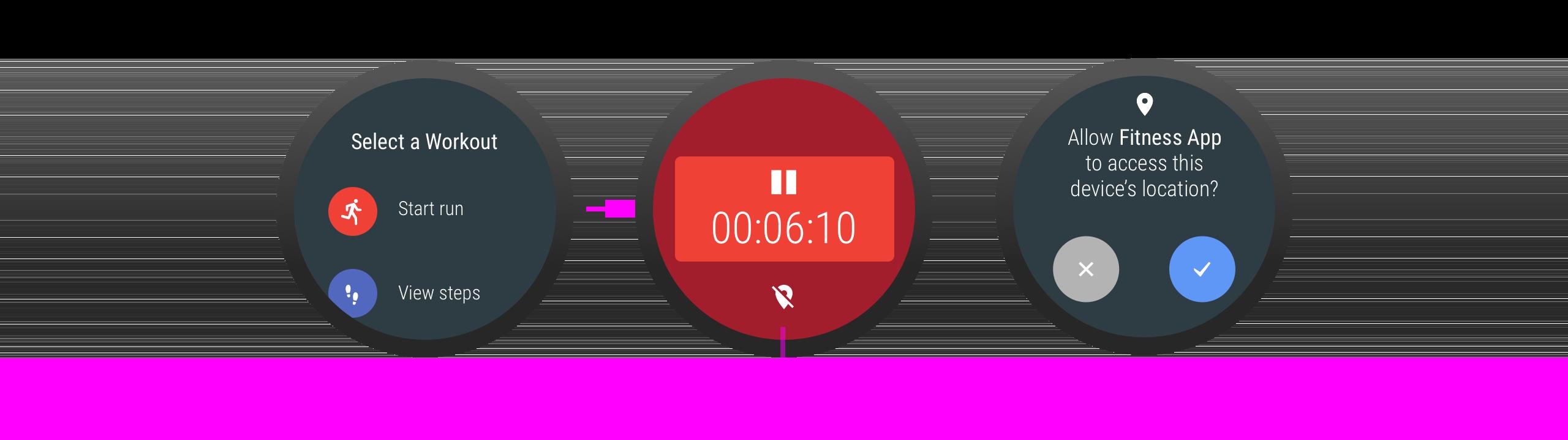 Ketika kebutuhan izin muncul, aplikasi menjelaskan mengapa izin diperlukan.