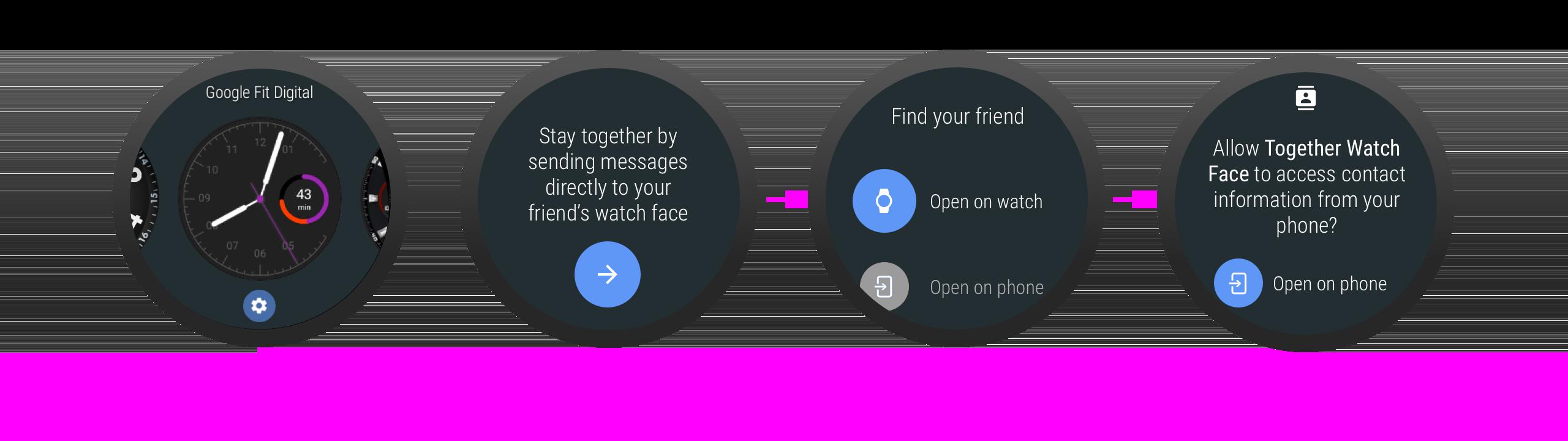 起動時にパーミッションをリクエストする場合、アプリがパーミッションを必要とする理由を説明することができます。
