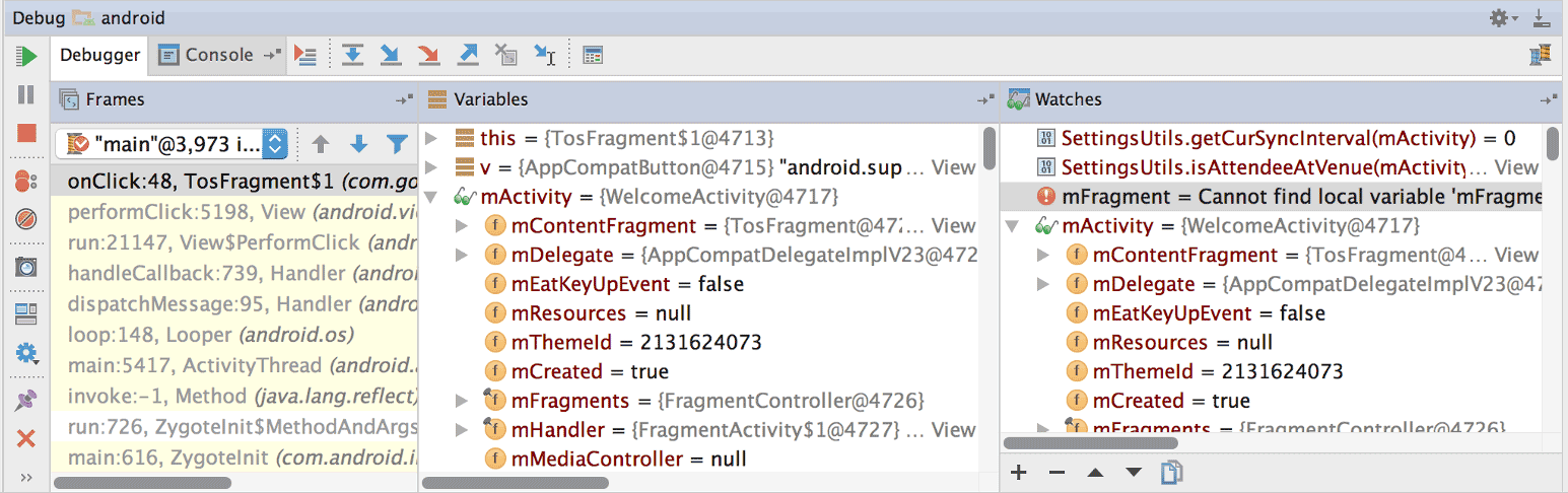 Debug your app | Android Developers