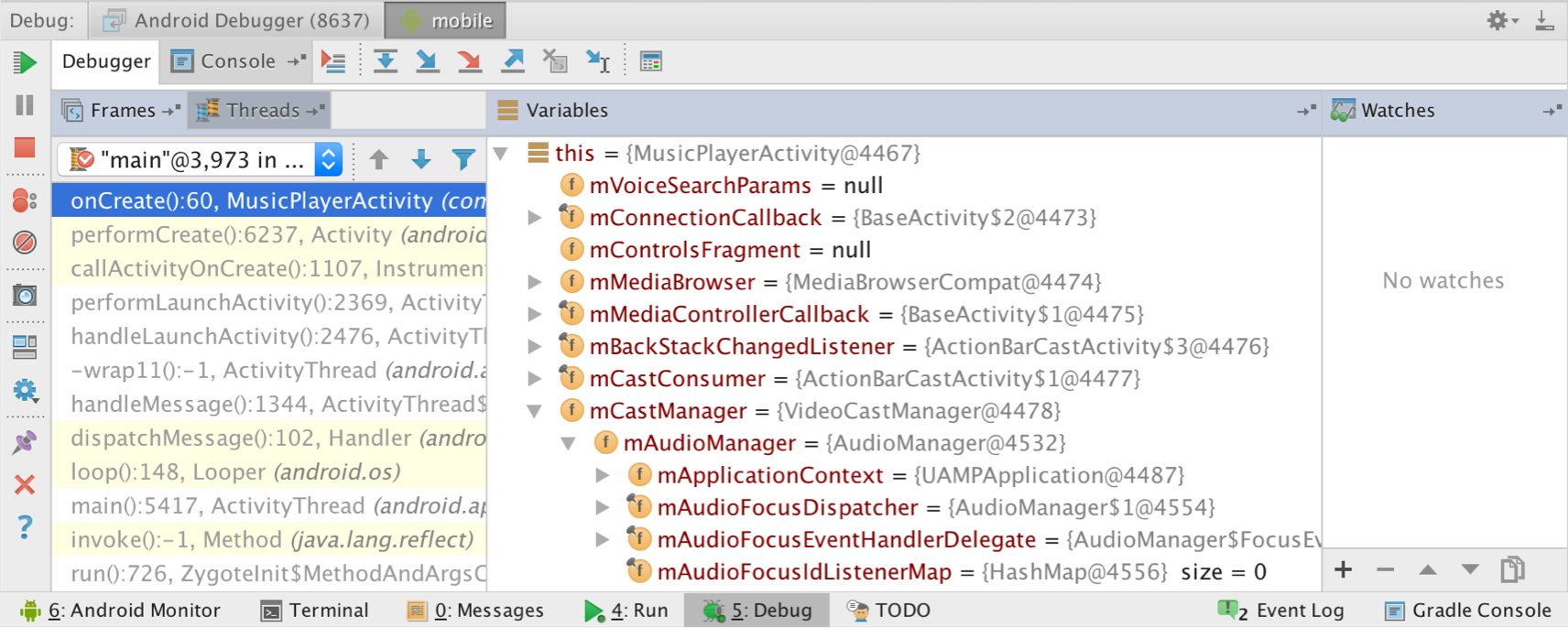 Phone Debugging Android Phone debug your app android studio if no devices appear in the select deployment target window after you click then need to either connect a device or create new emulator to