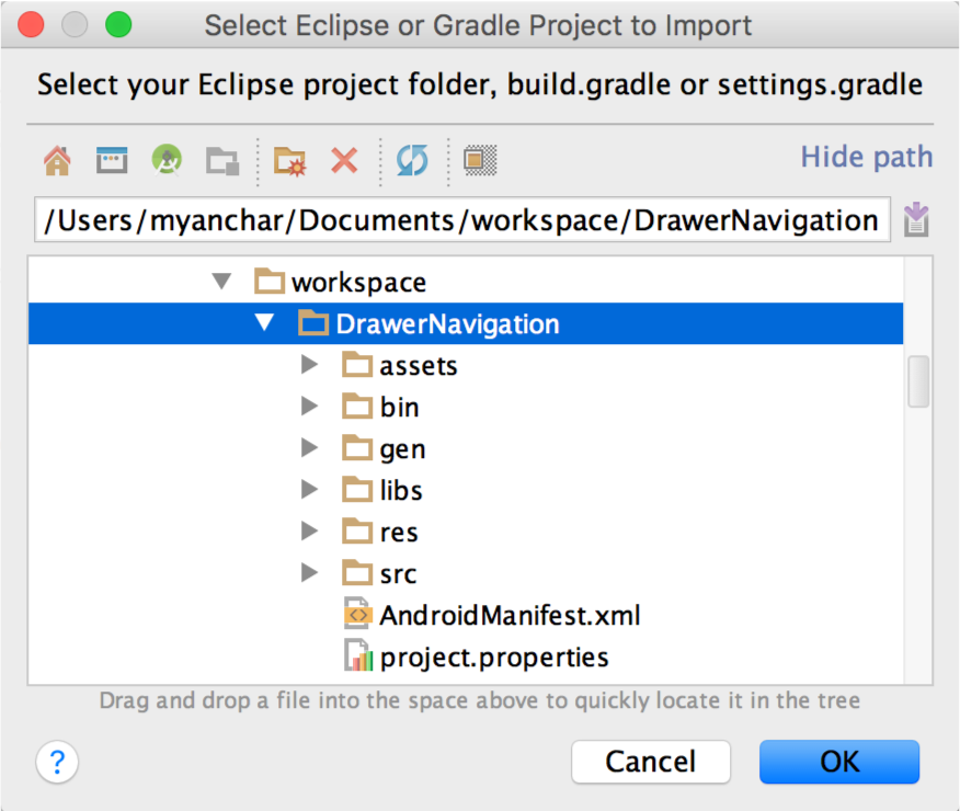 android studio apk path is not specified for module
