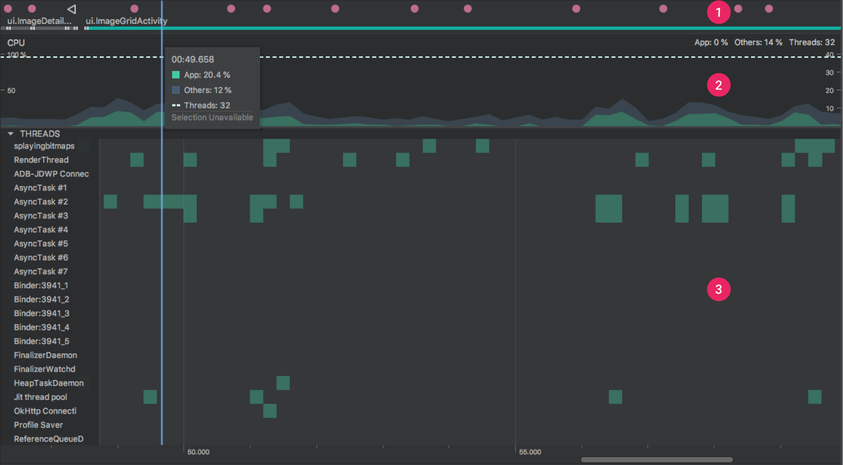 Inspect CPU activity with CPU Profiler | Android Developers