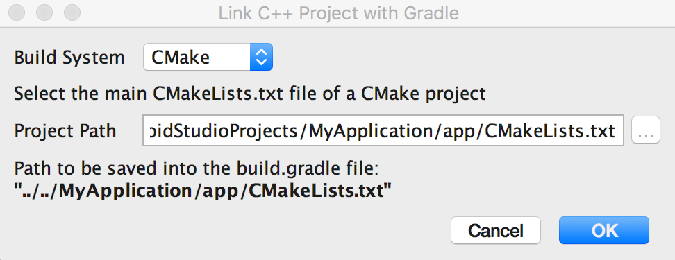 Link Gradle to your native library | Android Developers