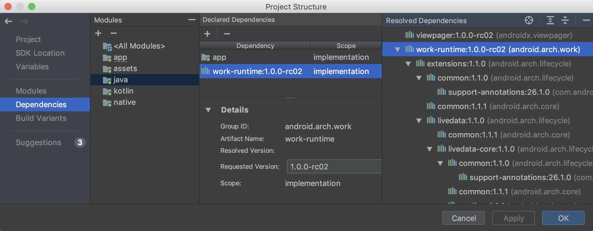 android studio logcat filter missing