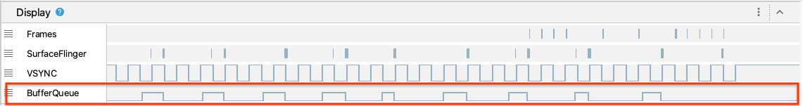 System Trace Buffer Queue