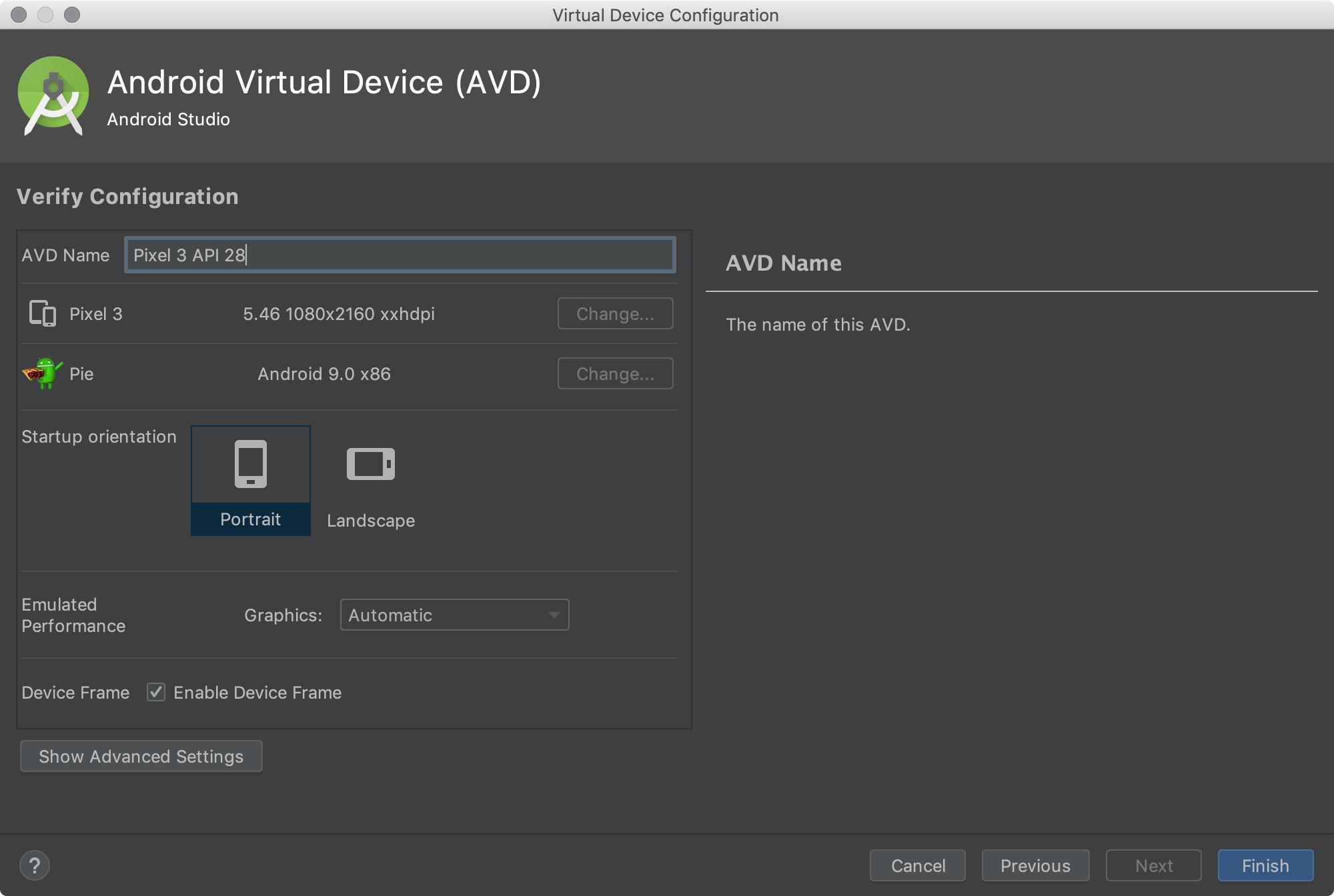 android emulator for windows 10 development