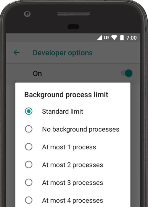 Configurar opções do desenvolvedor no dispositivo | Android Developers