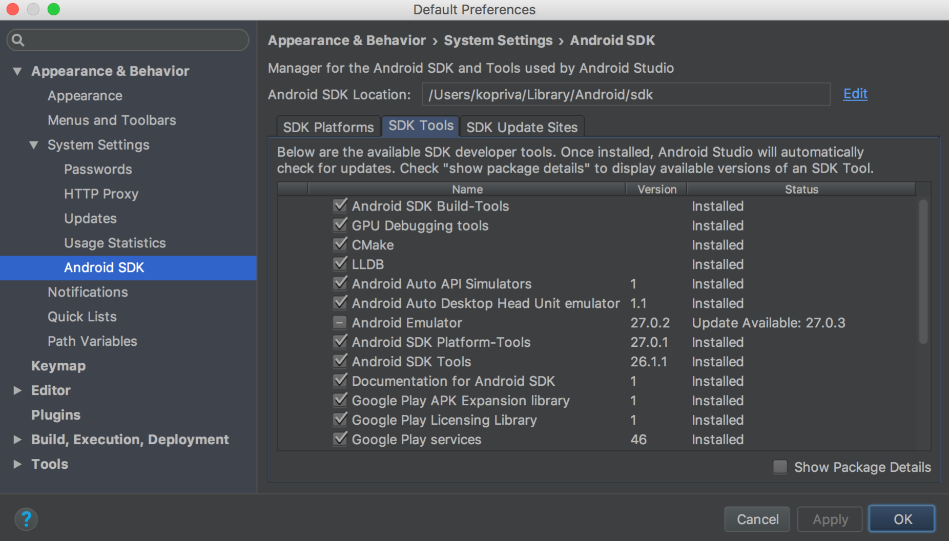 Update the IDE and SDK Tools | Android Developers