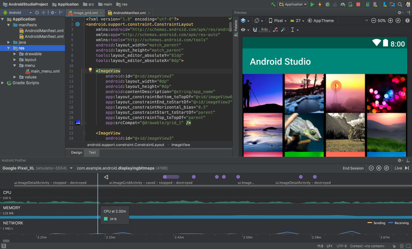 Download Android Studio and SDK tools | Android Developers Download optionsRelease notes