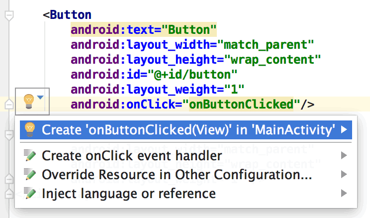 Tools attributes reference | Android Studio | Android Developers
