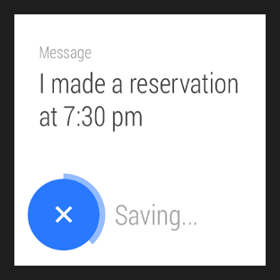 Show confirmations on Wear | Android Developers