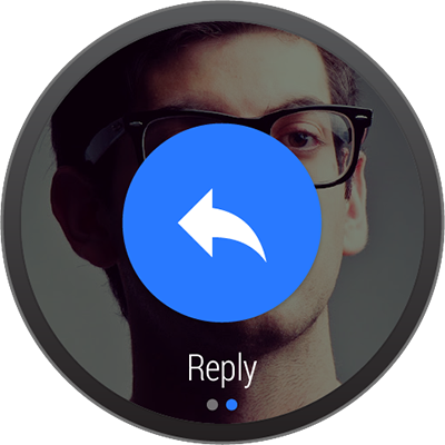 Design Principles of Android Wear