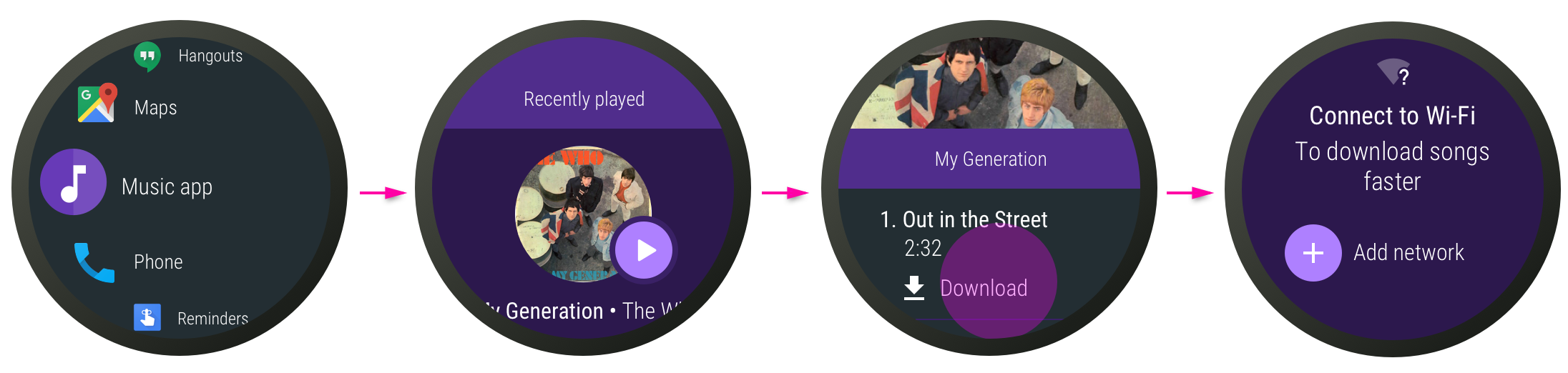 Music downloading