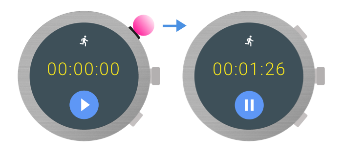 Multi-function buttons on Wear | Android Developers