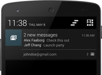 Stacking Notifications | Android Developers