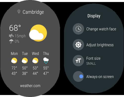Capture Wear UI screenshots | Android Developers